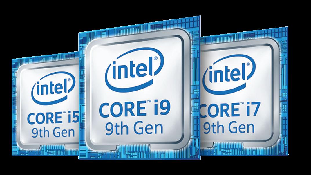 Emblema da 9ª geração da família Intel® Core™