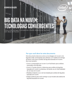 Big Data in the Cloud: Converging Technologies