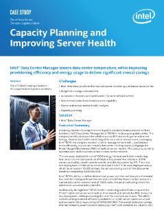 Capacity Planning and Improving Server Health