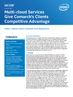 Comarch: Providing Flexible Hybrid or Multi-Cloud Solutions
