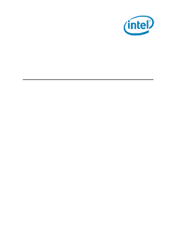 Intel® C102/C104 Scalable Memory Buffer Thermal Design Guide
