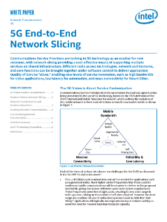 5G End-to-End Network Slicing