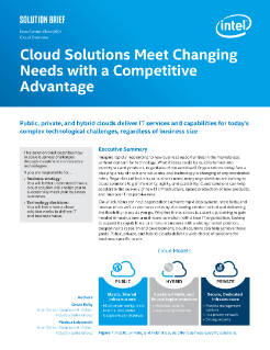Cloud Solutions Provide Competitive Advantage