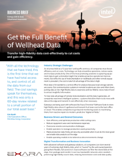 Get the Full Benefit of Wellhead Data
