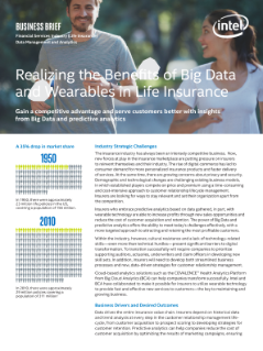 Benefits of Wearables and Big Data for Life Insurance