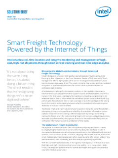 Smart Freight Technology Solution Brief