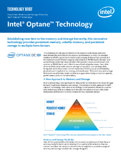 Intel® Optane™ Technology