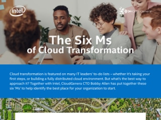 The Six Ms of Cloud Transformation