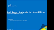 Video: Intel® IoT Gateways IDP App Integration